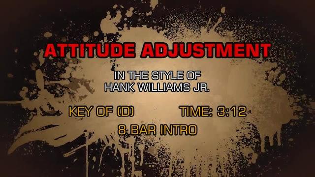 Hank Williams Jr. - Attitude Adjustment