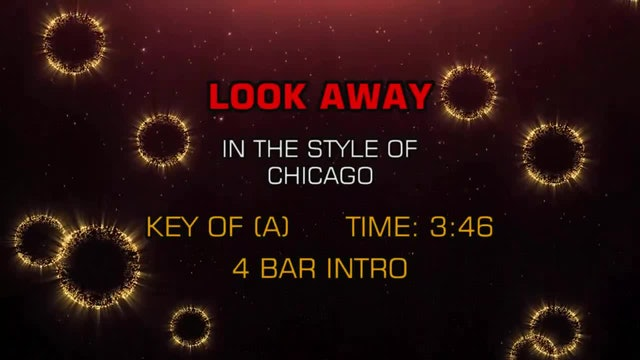 Chicago - Look Away