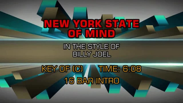 Billy Joel -New York State Of Mind