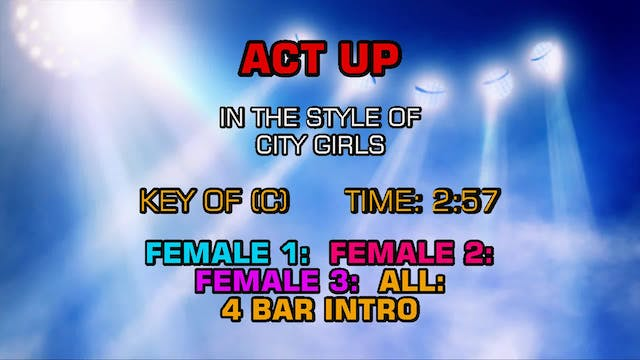 City Girls - Act Up