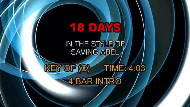 Saving Abel - 18 Days