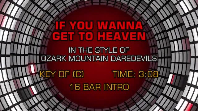 Ozark Mountain Daredevils - If You Wa...