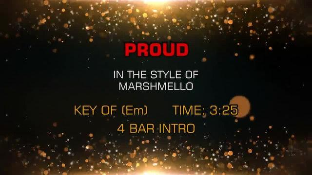 Marshmello - Proud