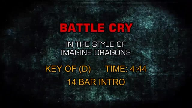 Imagine Dragons -Battle Cry