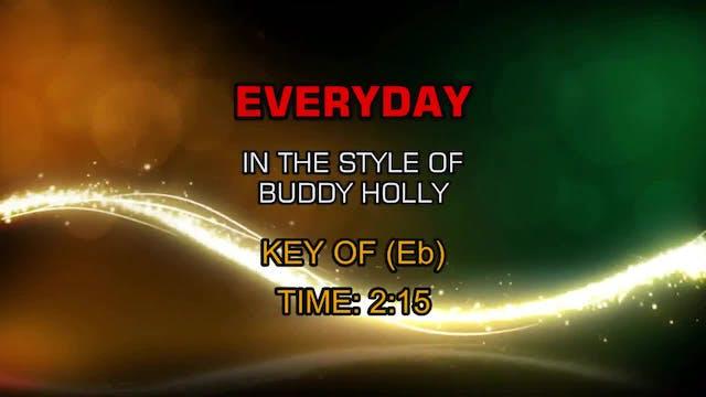 Buddy Holly - Everyday
