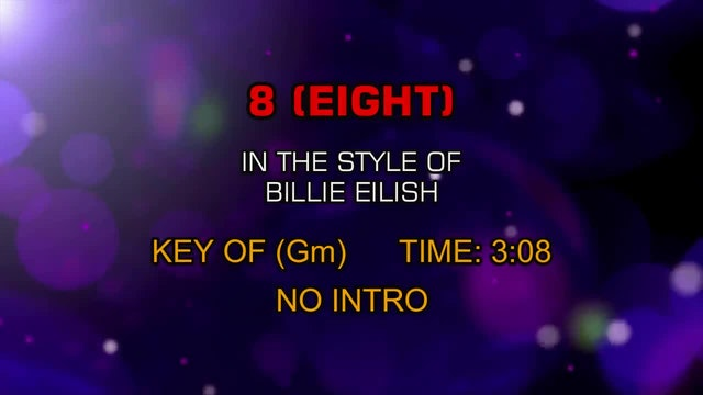 Billie Eilish - 8 (Eight)