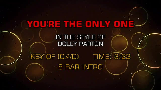 Dolly Parton - You're The Only One