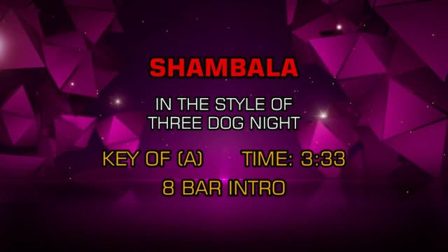 Three Dog Night - Shambala