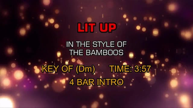The Bamboos - Lit Up
