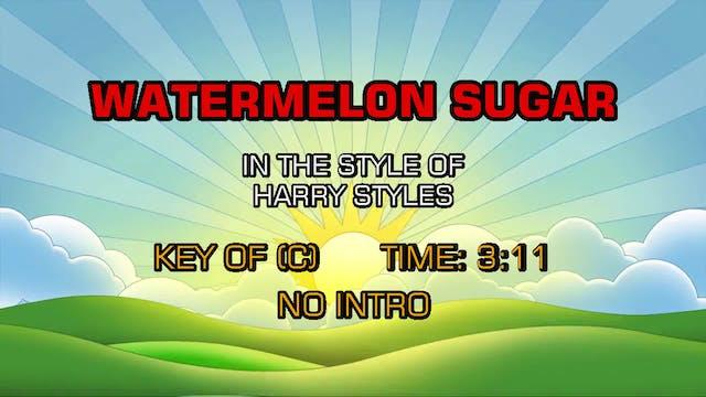 Harry Styles - Watermelon Sugar