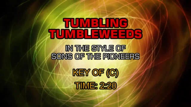 Sons Of The Pioneers - Tumbling Tumbl...
