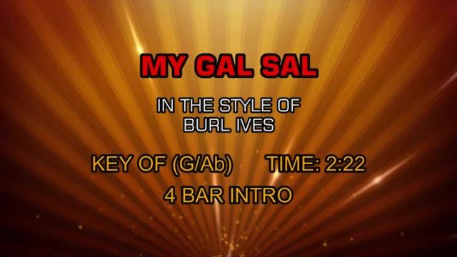 Burl Ives - My Gal Sal