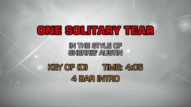 Sherrie' Austin - One Solitary Tear