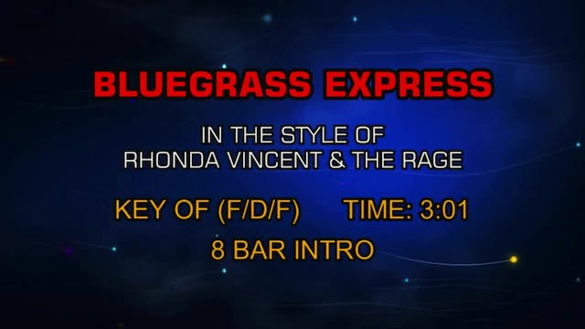 Rhonda Vincent & The Rage - Bluegrass...
