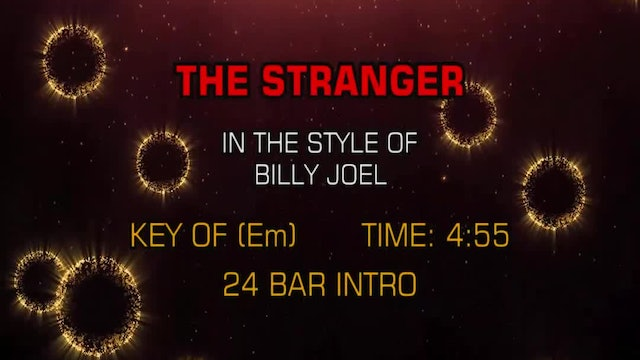 Billy Joel - Stranger, The
