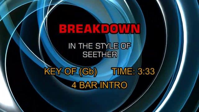 Seether - Breakdown