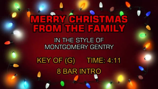 montgomery gentry merry christmas from the family
