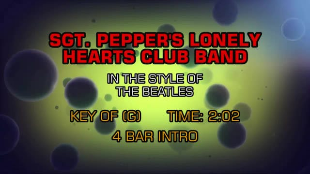 The Beatles - Sgt. Pepper's Lonely He...