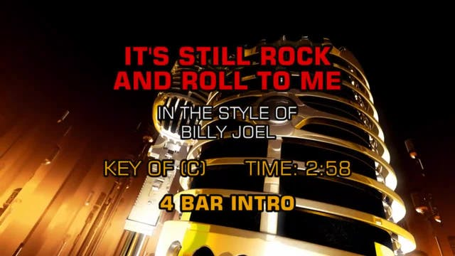 Billy Joel - It's Still Rock And Roll...