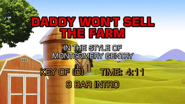 Montgomery Gentry - Daddy Won't Sell The Farm
