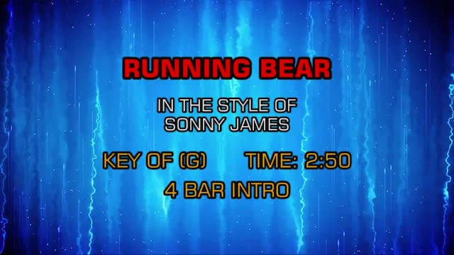 Sonny James - Running Bear
