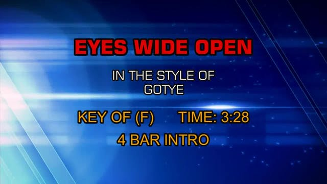 Gotye - Eyes Wide Open