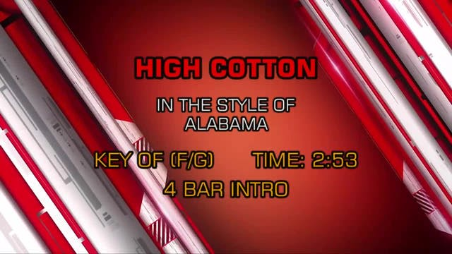 Alabama - High Cotton