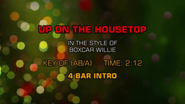 Boxcar Willie - Up On The Housetop