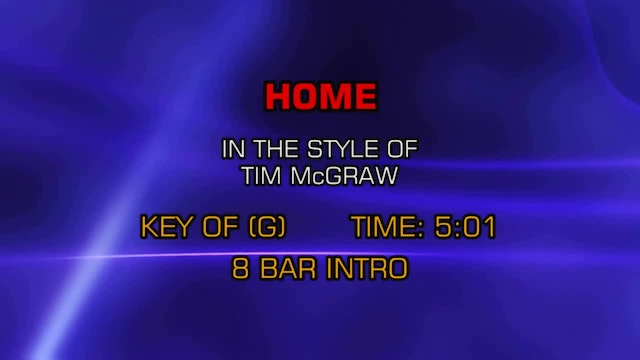 Tim McGraw - Home