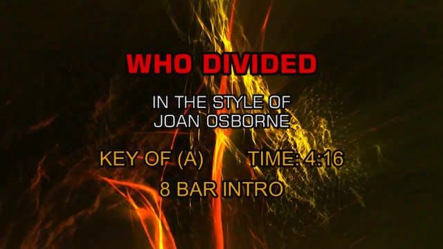 Joan Osborne - Who Divided