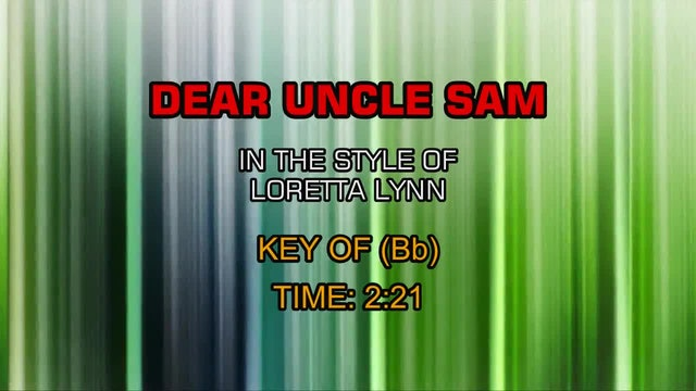 Loretta Lynn - Dear Uncle Sam