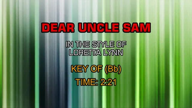 Loretta Lynn - Dear Uncle Sam