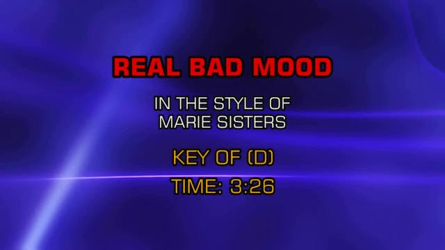 Marie Sisters - Real Bad Mood