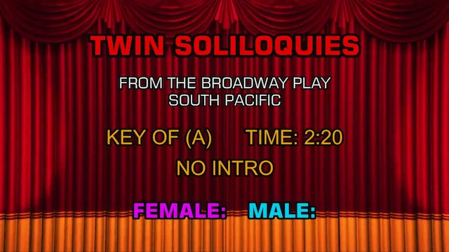 South Pacific - Twin Soliloquies
