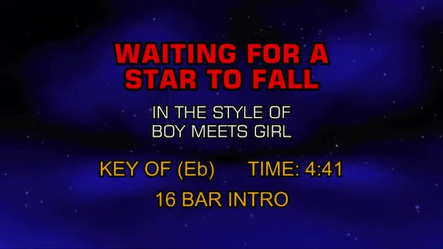 Boy Meets Girl - Waiting For A Star T...
