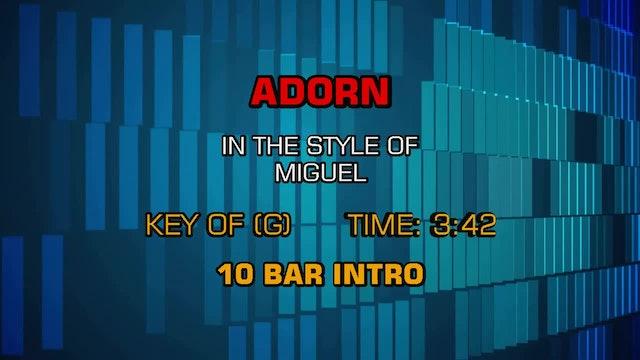 Miguel - Adorn
