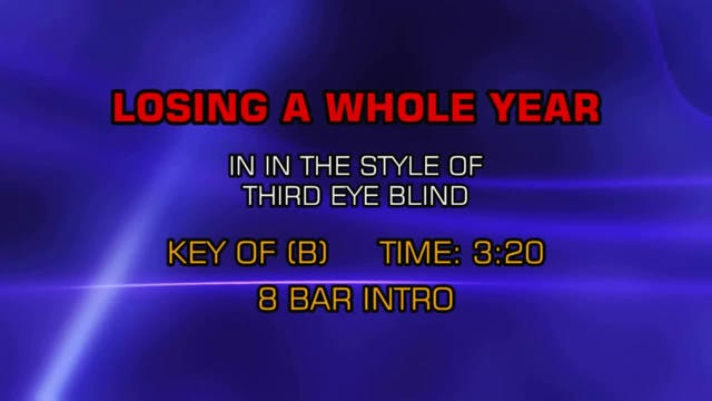 Third Eye Blind - Losing A Whole Year