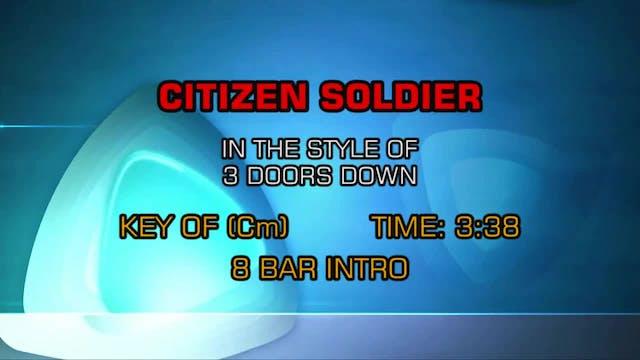 3 Doors Down - Citizen Soldier