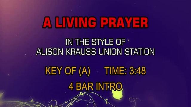 Alison Krauss Union Station - A Living Prayer