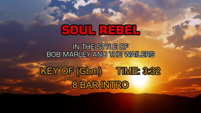 Bob Marley And The Wailers - Soul Rebel