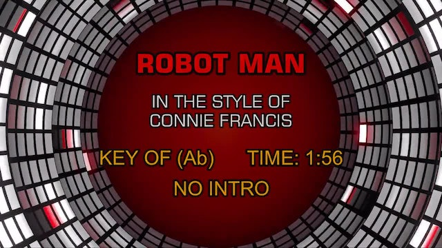 Connie Francis - Robot Man