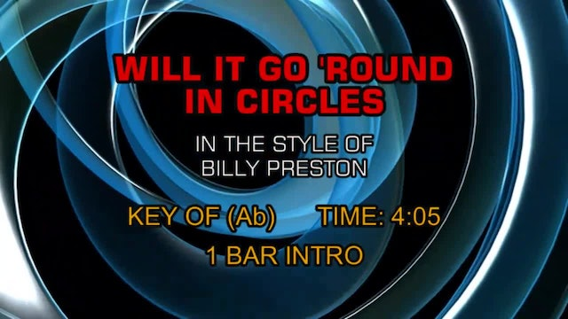 Billy Preston - Will It Go 'Round In Circles