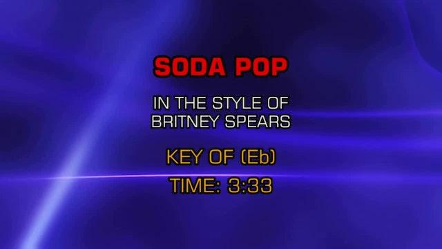Britney Spears - Soda Pop