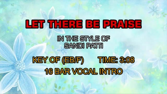 Sandi Patti - Let There Be Praise