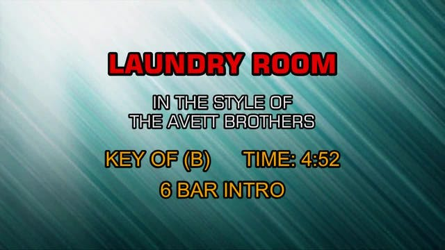 The Avett Brothers - Laundry Room