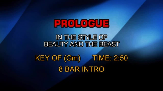 Beauty And The Beast - Prologue