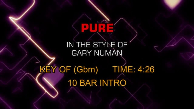Gary Numan - Pure