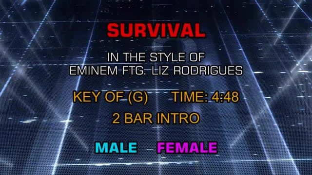 Eminem featuring Liz Rodrigues - Survival