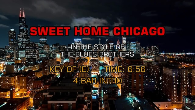 The Blues Brothers - Sweet Home Chicago