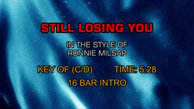 Ronnie Milsap - Still Losing You